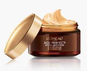 L'Oreal Paris Age Perfect Hydra-Nutrition Golden Balm Face, Neck & Chest, 1.7 Fluid Ounce (Packaging May Vary)