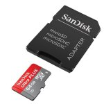 SanDisk 64GB microSDHC Card with Adapter Class 10