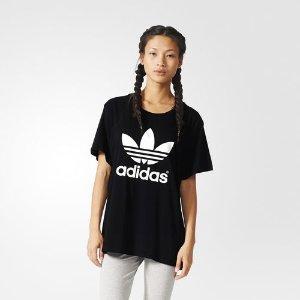 adidas BF TREFOIL TEE - Black | adidas US