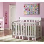 Graco Stanton Convertible Crib, White