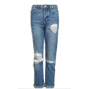 MOTO Selvedge Straight Leg Jeans