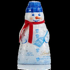 Milk Snowman Holiday Chocolate Figure