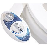 Luxe Bidet Neo 120 - Self Cleaning Nozzle - Fresh Water Non-Electric Mechanical Bidet Toilet Attachment