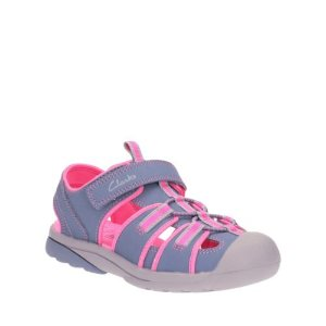 Beach Tide Toddler Grey Combi - Toddler Girl Shoes - Clarks® Shoes Official Site