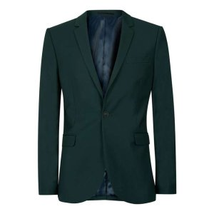 Deep Green Skinny Fit Suit Jacket - TOPMAN USA
