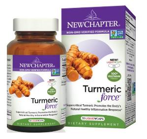 $13.97 New Chapter Turmeric Force Vegetarian Capsule - 60 ct