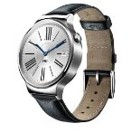 $224.99 Huawei Smart Watch Stainless Steel with Black Suture Leather Strap Model 55020533