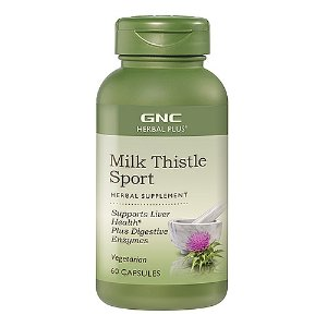 GNC Herbal Plus Milk Thistle Sport