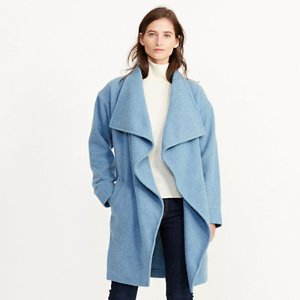 Draped Merino Wool Jacket - Wool � Coats & Jackets - RalphLauren.com