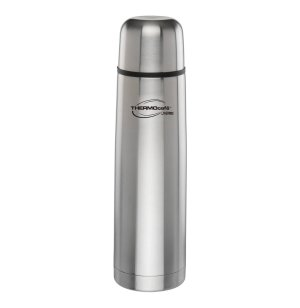 Thermos ThermoCafe Vacuum Insulated 24oz Stainless Steel Compact Beverage Bottle