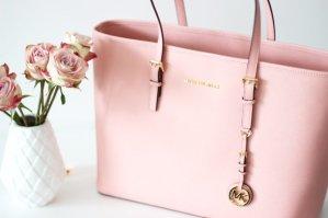 As Low As $136.80 Michael Michael Kors Baby Pink Handbag Sale
