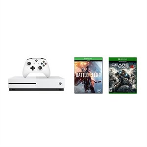 Xbox One S 500GB Battlefield 1 + Gears of War 4 + Extra Controller