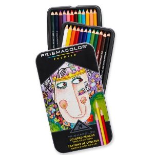 $12.30 Prismacolor Premier Colored Pencils, Soft Core, 24 Pack