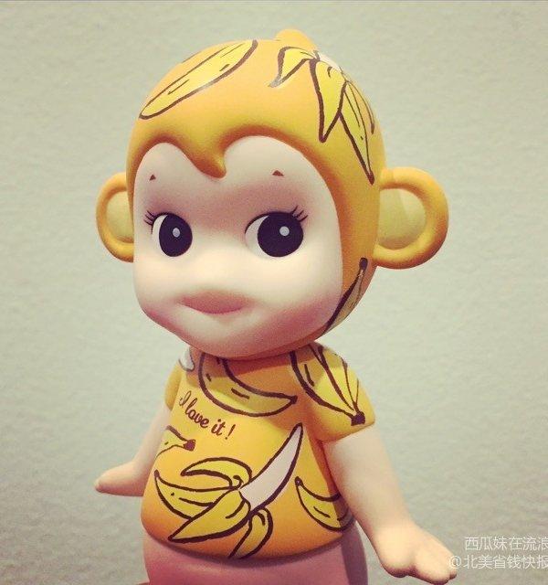过年了 婆婆给即将出世的小公主带来的小猴子们 7,sonny angel 艺术