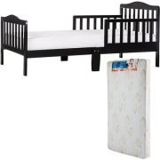 $84.99-$104.99 Dream On Me Classic Design Toddler Bed with Mattress