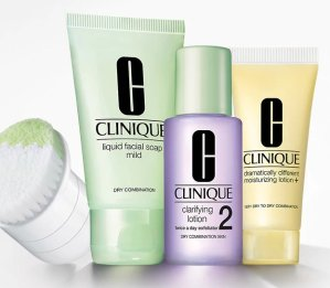 Get free 3-step travel kit with $35 purchase+ a free mini sonic brush with $55 purchase @ Clinique Dealmoon Exclusive