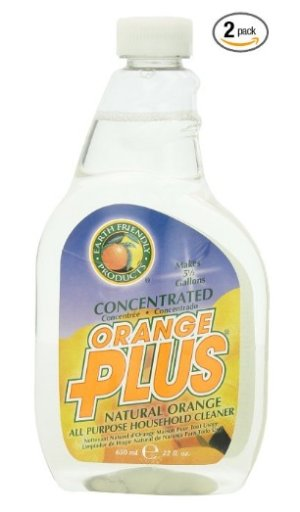 $5.51 Pack of 2 Earth Friendly Products Orange Plus Concentrated, 22 Ounce (Pack of 2)