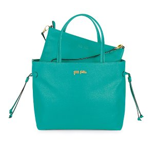 FOLIAGE SMALL BAG IN BAG PU Leather - SB14P015SQ