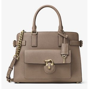Emma Saffiano Leather Satchel | Michael Kors