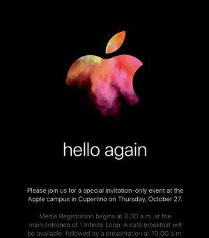 大家来投票2016 10月苹果发布会最期待的产品