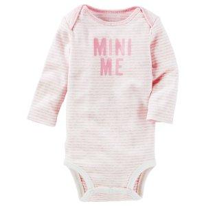 Baby Girl Mini Me Bodysuit | OshKosh.com