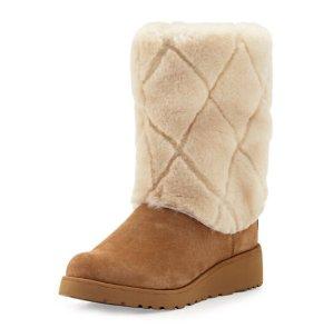 $138UGG 超保暖毛绒雪地靴热卖