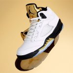 "$140 - $190 Air Jordan 5 ""Olympic"" (Gold Medal) Will Release Tomorrow"