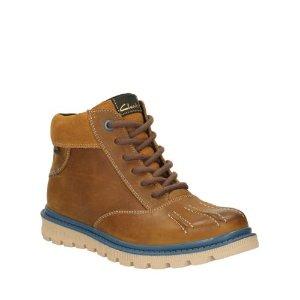 Dan Hi GTX Toddler Tan Leather - Boys Boots - Clarks® Shoes Official Site