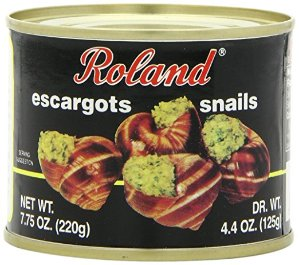 Roland Escargot Snails, Giant, 7.75 Ounce (Pack of 12)