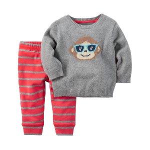 Baby Boy 2-Piece Little Sweater Set | Carters.com