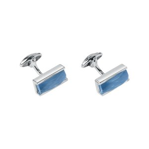 Blue Agate Doublet Cufflinks | Gifts Gifts For Him, Official Links of London