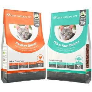 Only Natural Pet PowerFood Grain-Free Dry Cat Food