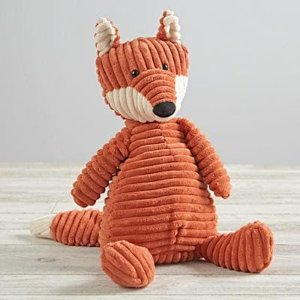 Jellycat Corduroy Fox by The Land of Nod | Spring - Free Shipping. On Everything