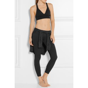 BODYISM I Am Unique textured stretch-jersey leggings