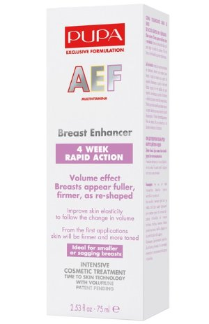 45% Off Pupa Rapid Action Breast Enhancer 75ml