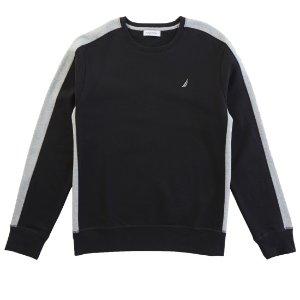 Pieced Sweatshirt - True Black