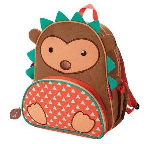 Skip Hop Zoo Little Kid and Toddler Backpack, Ages 2+, Multi Hudson Hedgehog