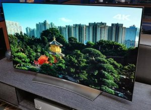 "$999.99 LG Electronics 55EG9100 55"" 1080p Curved Smart OLED TV"