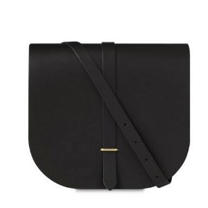 Dark Brown Large Saddle Bag | Cambridge Satchel Company