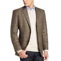$34.49 Haggar Men's Houndstooth Windowpane Blazer
