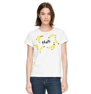 Up to 40% Off + Extra 30% Off Women's Tops @ kate spade