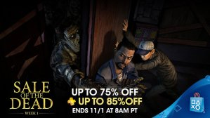 Up to 75% Off and 85% Off for PSN+ PSN Sale of the Dead