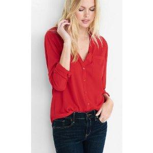 Convertible Sleeve Portofino Shirt