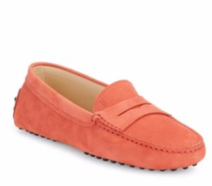 Tod's Gommini Round-Toe Penny Loafers