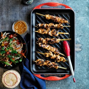 Le Creuset Cast-Iron Rectangular Skinny Grill | Williams-Sonoma