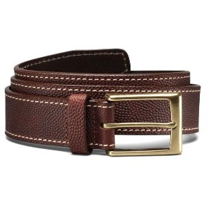 Duke Football Belt Men's Premium Leather Casual Belts