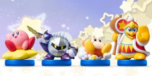 As Low As $4.83 Kirby Series Amiibo Figures on sale
