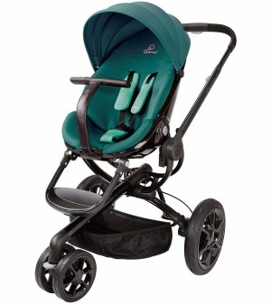 $349.99 + $25 GCQuinny Moodd Stroller - Green Courage