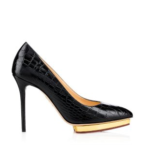 DEBBIE|COURT SHOE PLAT|Charlotte Olympia SHOES