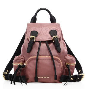 Small Nylon Rucksack by Burberry